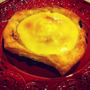 Creme Brulee tart using Careme Vanilla Sweet Shortcrust pastry